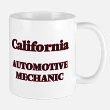 California Automotive Mechanic Mugs