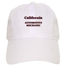 California Automotive Mechanic Baseball Cap