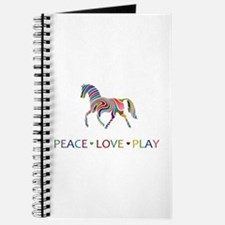 Cute Girls pets horses Journal