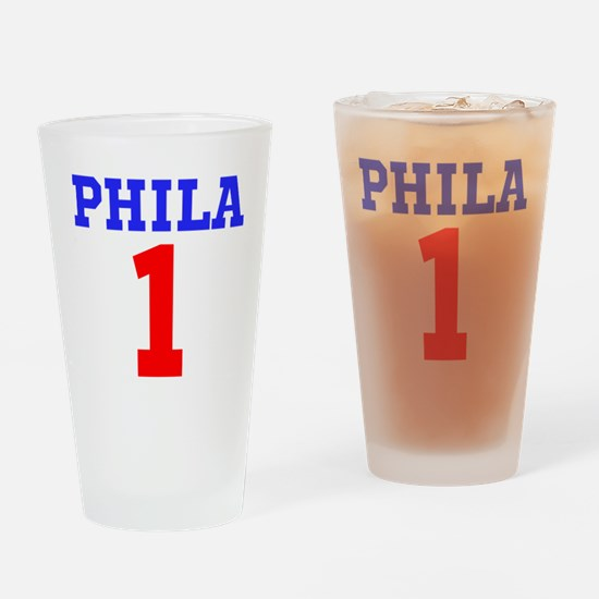 PHILA #1 Drinking Glass