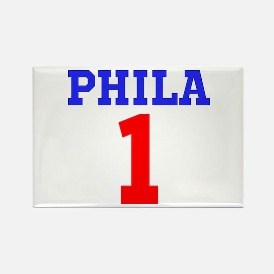 PHILA #1 Rectangle Magnet