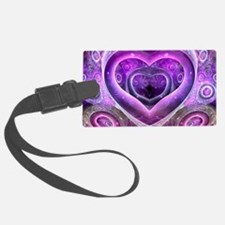 Bubble Heart Luggage Tag