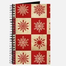 Snowflakes in Squares Journal