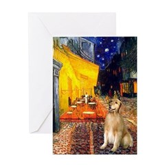 Cafe & Golden Greeting Card