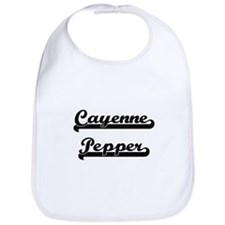 Cayenne Pepper Classic Retro Design Bib