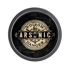 Arsenic Vintage Style Wall Clock