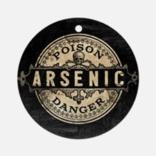 Arsenic Vintage Style Round Ornament