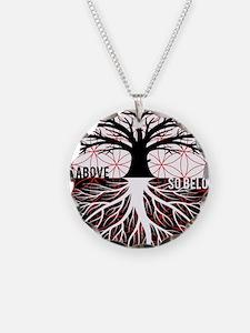 AS ABOVE SO BELOW - Tree of life Flower of Life Ne