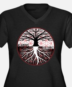 AS ABOVE SO BELOW - Tree of life Flower of Life Pl
