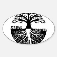 AS ABOVE SO BELOW Tree of life Stickers