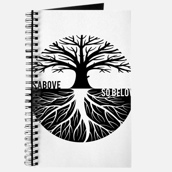 AS ABOVE SO BELOW Tree of life Journal