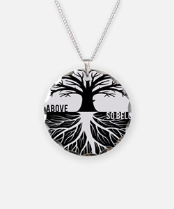 AS ABOVE SO BELOW Tree of life Necklace