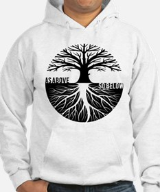 AS ABOVE SO BELOW Tree of life Hoodie