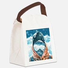 Funny Shelter Canvas Lunch Bag