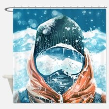 Unique Mountains Shower Curtain