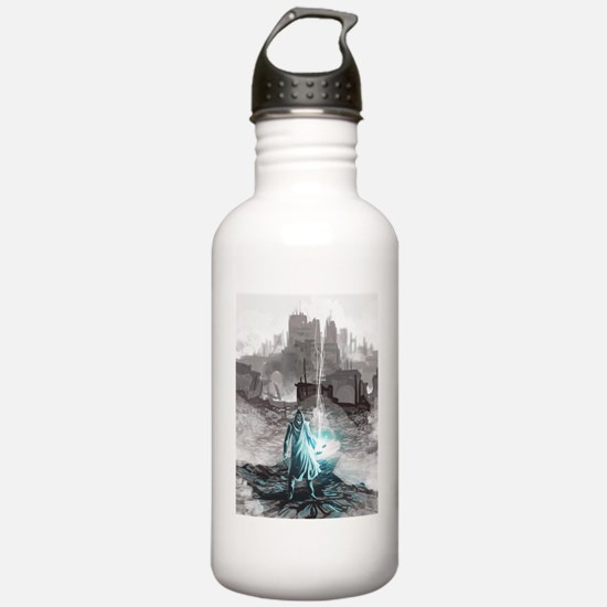 Funny Magic city Water Bottle