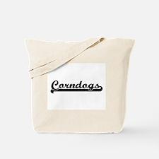 Corndogs Classic Retro Design Tote Bag