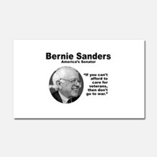 Sanders: Veterans Car Magnet 20 x 12