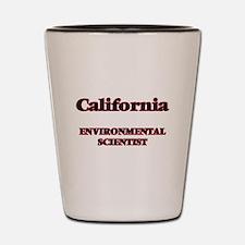 California Environmental Scientist Shot Glass