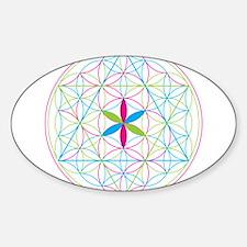 Flower of life tetraedron/merkaba Decal