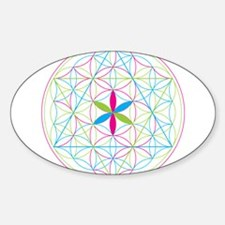 Flower of life tetraedron/merkaba Stickers