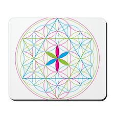 Flower of life tetraedron/merkaba Mousepad