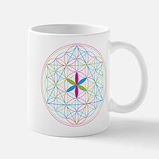 Flower of life tetraedron/merkaba Mugs