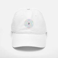 Flower of life tetraedron/merkaba Baseball Baseball Baseball Cap