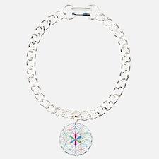 Flower of life Metatron Merkaba Bracelet