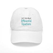 Differential Equation Baseball Cap