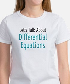 Differential Equation Women's T-Shirt