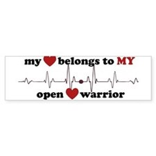 my heart belongs Bumper Bumper Sticker