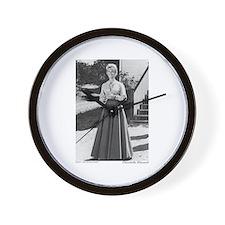 Miss B plain (full length) Wall Clock