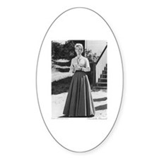Miss B plain (full length) Oval Decal