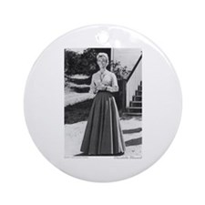 Miss B plain (full length) Ornament (Round)