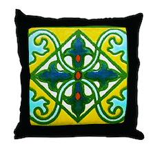 Classic Tile  shop Throw Pillow