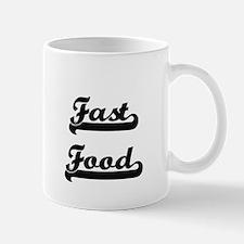 Fast Food Classic Retro Design Mugs