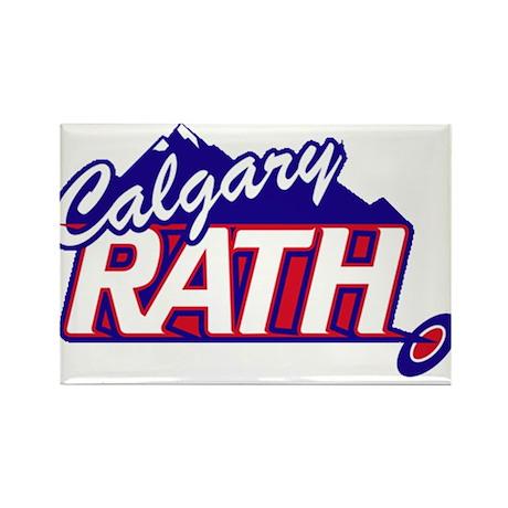 Calgary RATH Rectangle Magnet