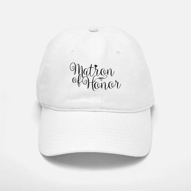 Matron of Honor Baseball Baseball Cap