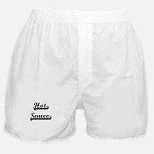 Hot Sauce Classic Retro Design Boxer Shorts