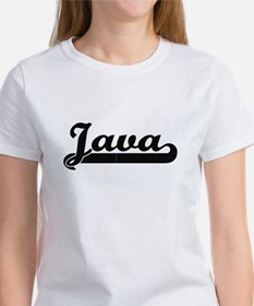 Java Classic Retro Design T-Shirt