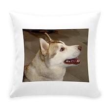 Siberian Husky Everyday Pillow