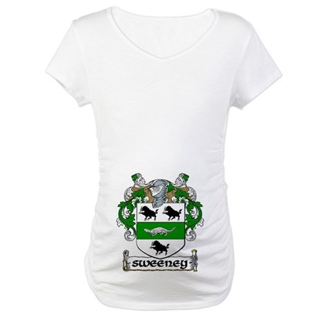 Sweeney Coat of Arms Maternity T-Shirt