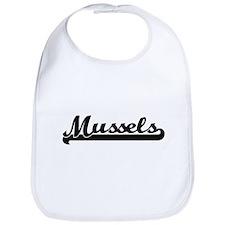 Mussels Classic Retro Design Bib