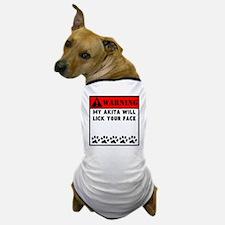 Akita Will Lick Your Face Dog T-Shirt