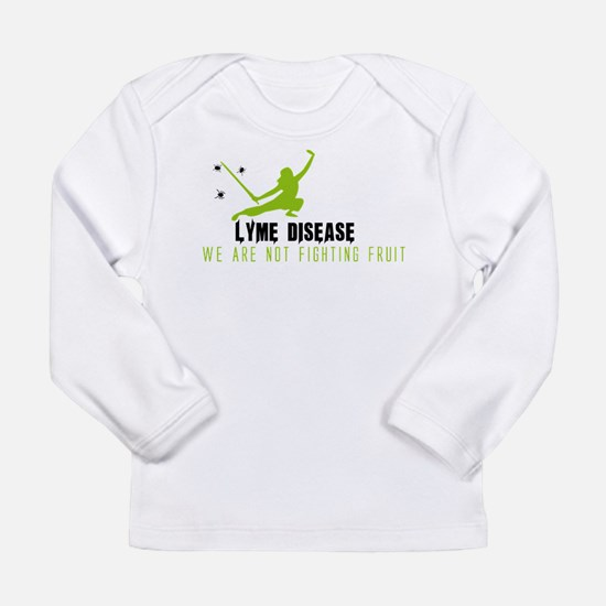 Lyme Disease - We Are Not Figh Long Sleeve T-Shirt