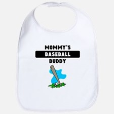Mommys Baseball Buddy Bib