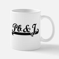 Pb&J Classic Retro Design Mugs