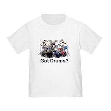 Cute Pearl drums T