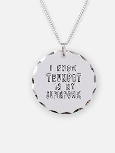 Trumpet is my superpower Necklace
